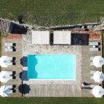 Castello la Leccia pool