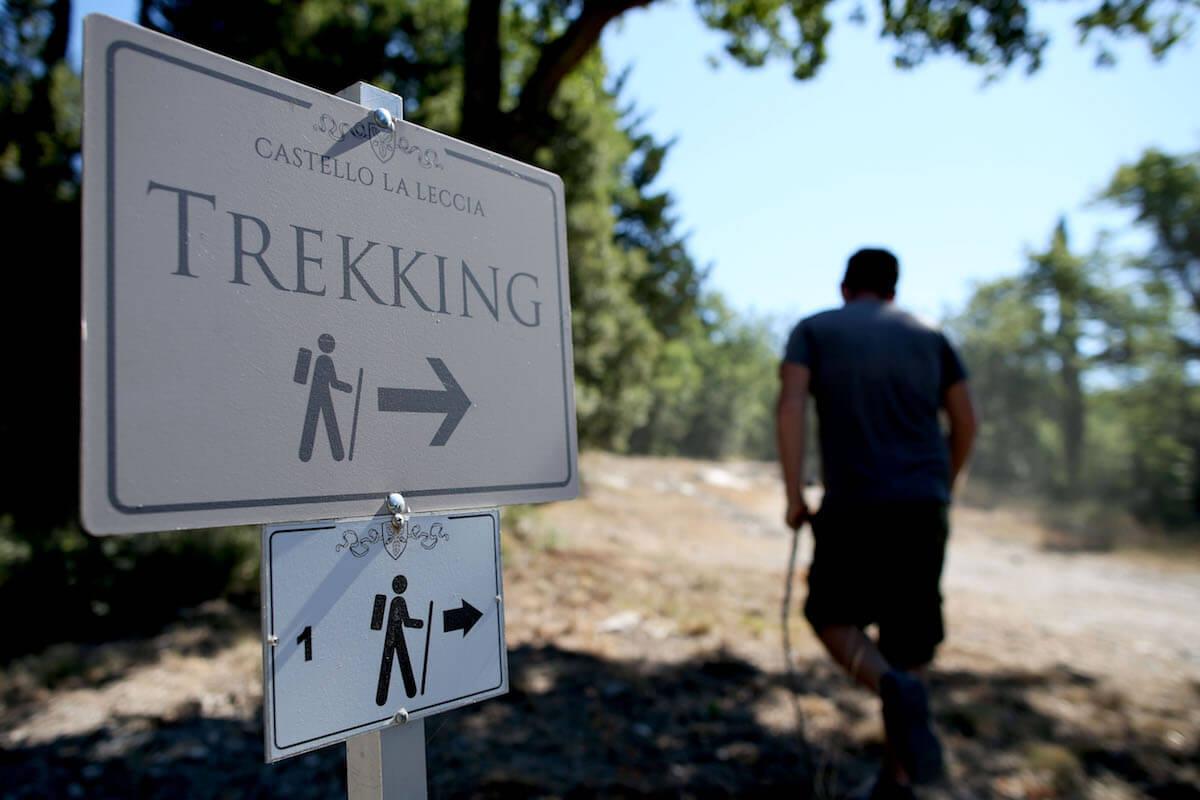 Percorso natura<br> Trekking in Toscana