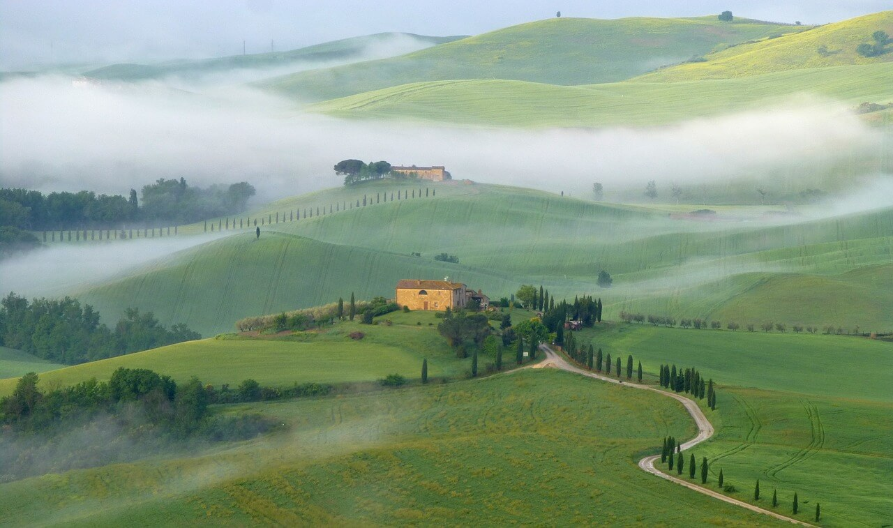 The Val d'Orcia